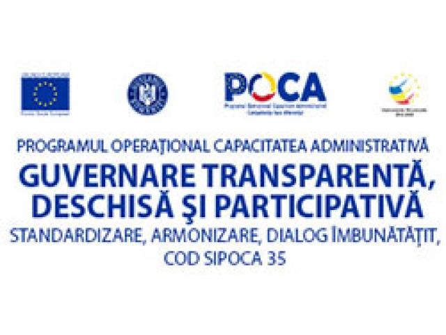 """""""Guvernare transparentă"""